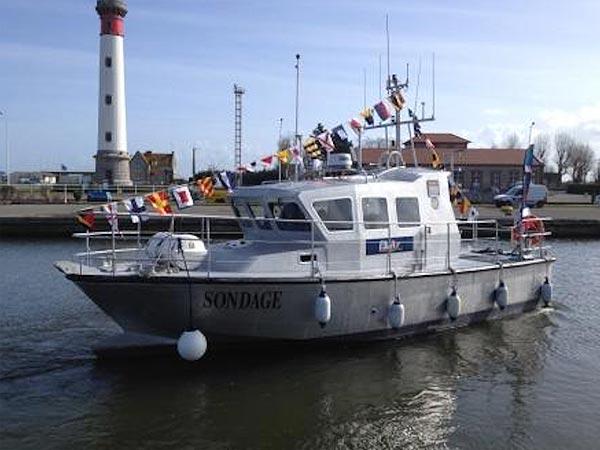 bateaux aluminium manche 50