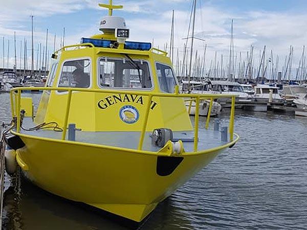 construction bateaux sauvetage manche