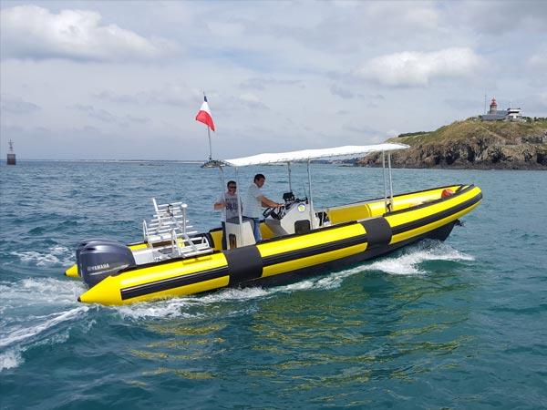 bateau de tourisme manche