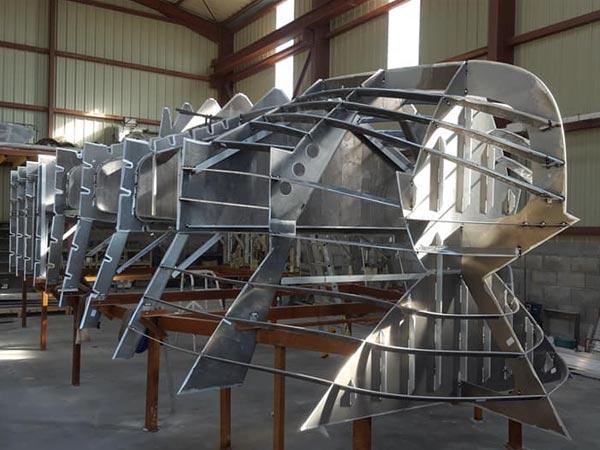 construction bateaux en aluminium